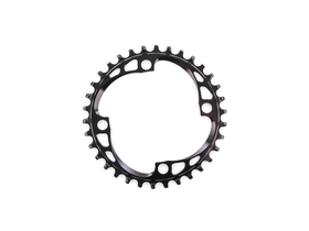 ABSOLUTE BLACK Chainring 1-speed BCD 104 narrow wide...