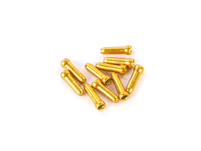 Jagwire End Sleeves for Inner Cable | 10 Pcs. gold