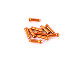 Jagwire End Sleeves for Inner Cable colored 10 Pcs. orange