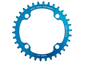 WOLFTOOTH Chainring 1-speed  BCD 104 32 Teeth blue