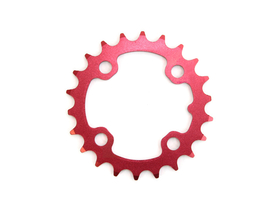 SRAM Chainring BCD 64 | 22 Teeth inside red