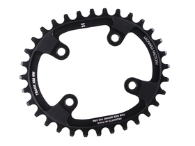 LEONARDI RACING Chainring TRACK oval 1-speed | BCD 76 for...