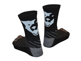 WOLFTOOTH Sock Guy Wool Socks black S / M