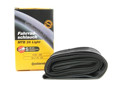 CONTINENTAL Tube 26 MTB Light 42 mm SV