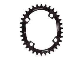 LEONARDI RACING Chainring Oval TRACK 1.3 1-speed BCD 104