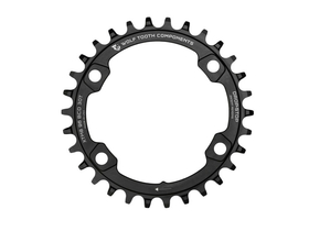 WOLFTOOTH Chainring 1-speed BCD 96/64 for Shimano XT...