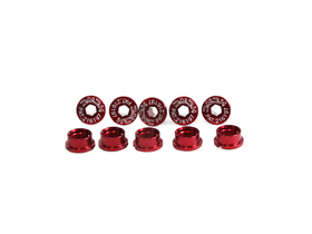 KCNC Chainring Bolts Road 1-speed Aluminium | M8,0 x 6,5...
