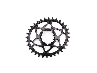 ABSOLUTE BLACK Kettenblatt Direct Mount oval | narrow wide für SRAM Kurbel | schwarz 26 Zähne