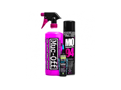 MUC-OFF Reinigungsset Wash Protect & Lube Kit