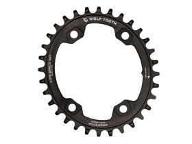 WOLFTOOTH Chainring oval 1-speed BCD 96 for Shimano XT...