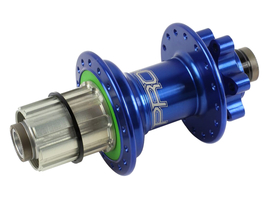 HOPE Hub rear Pro 4 | Thru Bolt 10 mm Thru Axle | Freehub...