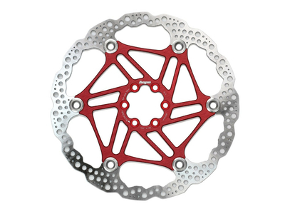 HOPE Brake Disc Floating two part 203 mm red