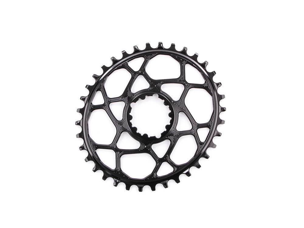 SROVBOOST30GL Absolute Black Oval Direct Boost 148 Bicycle Chainring 30T Gold